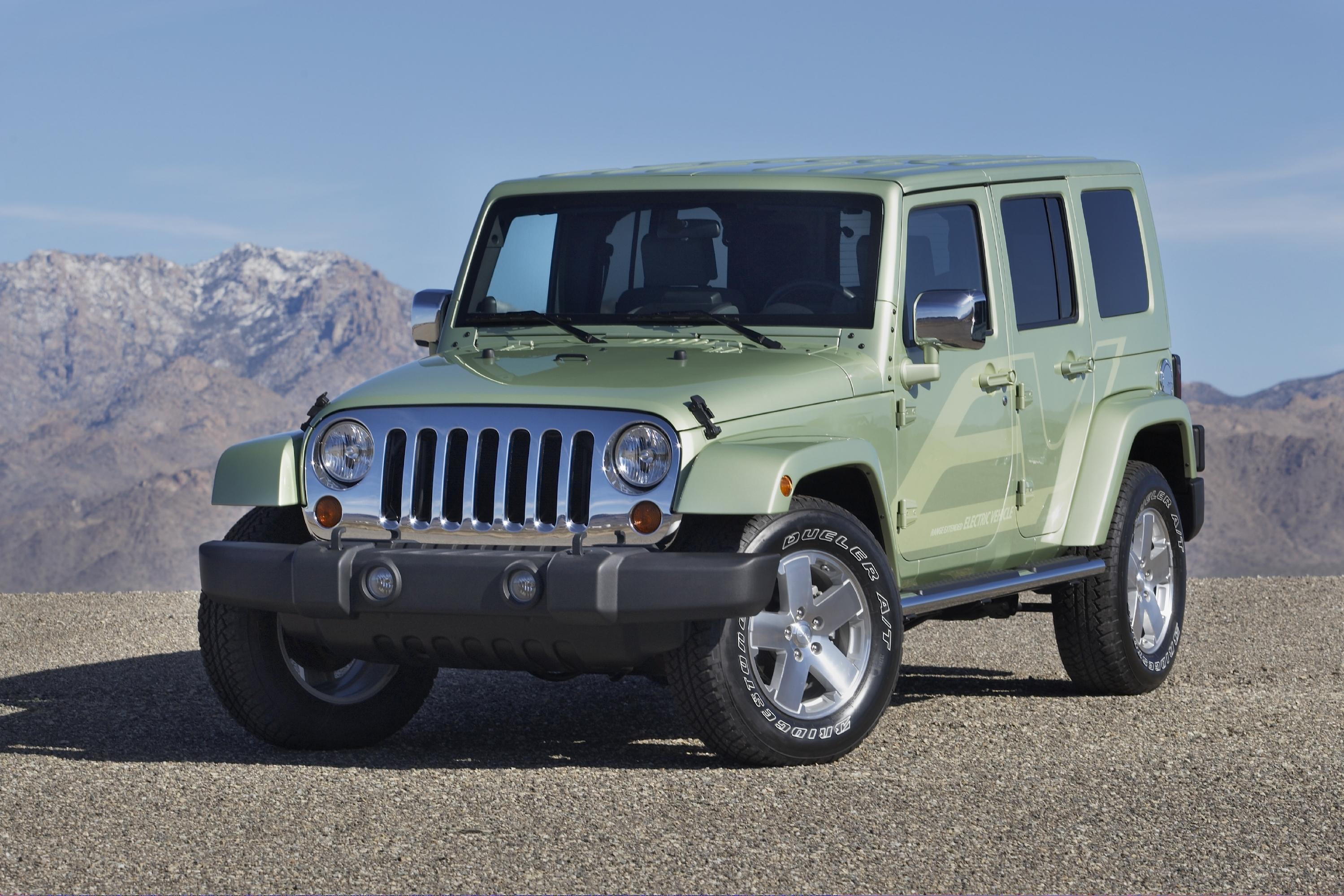 2009 Jeep Wrangler For Sale >> 2009 Jeep Wrangler Unlimited EV | Top Speed