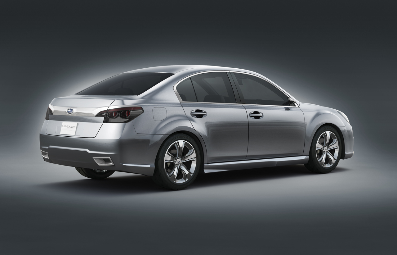 2009 subaru legacy concept review top speed download vanachro Image collections