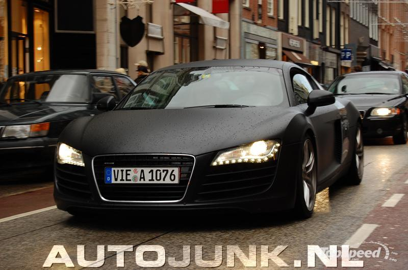 Matte Black Audi R8 - Picture 282697 | car News @ Top Speed