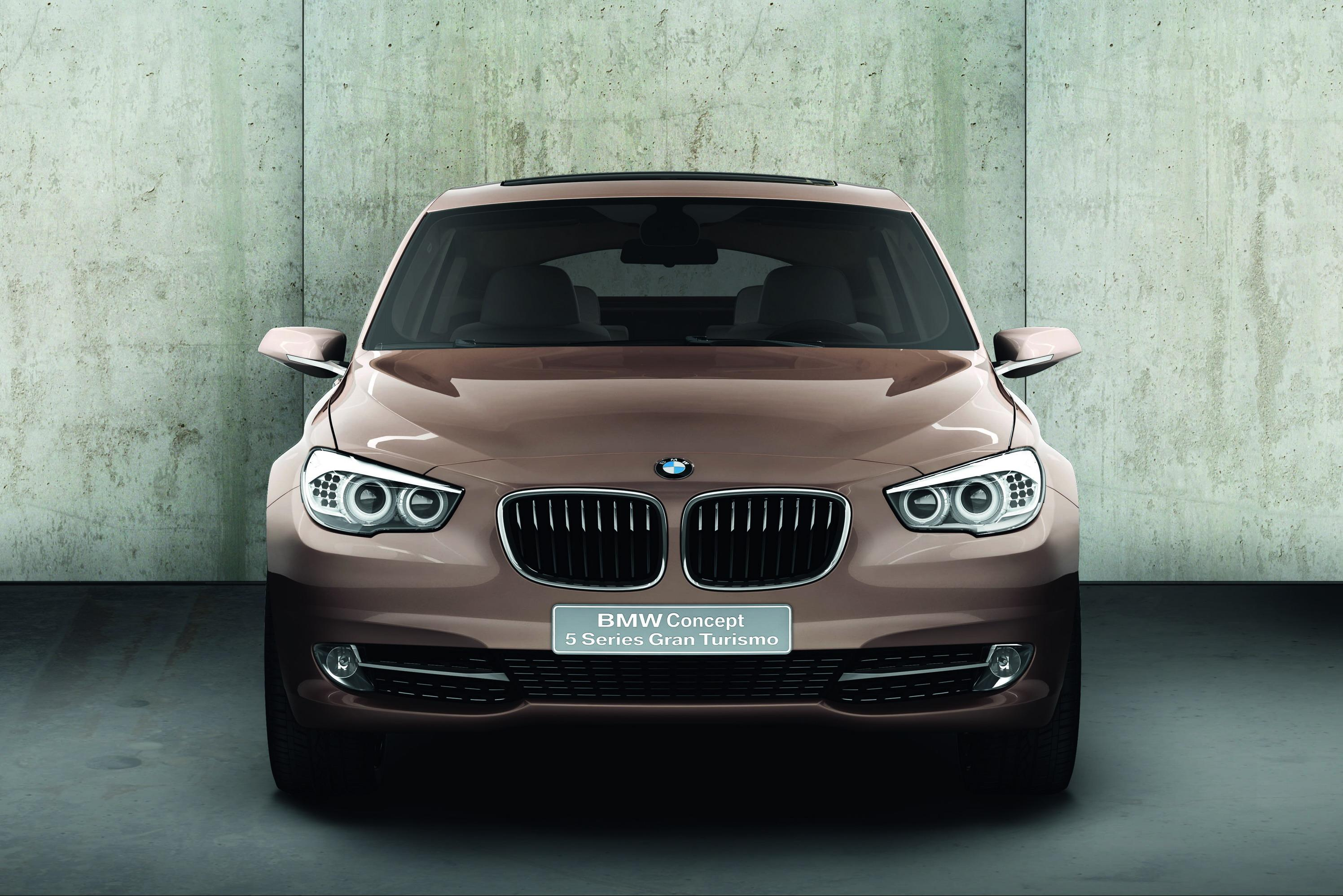 2009 BMW Concept 5 Series Gran Turismo | Top Speed