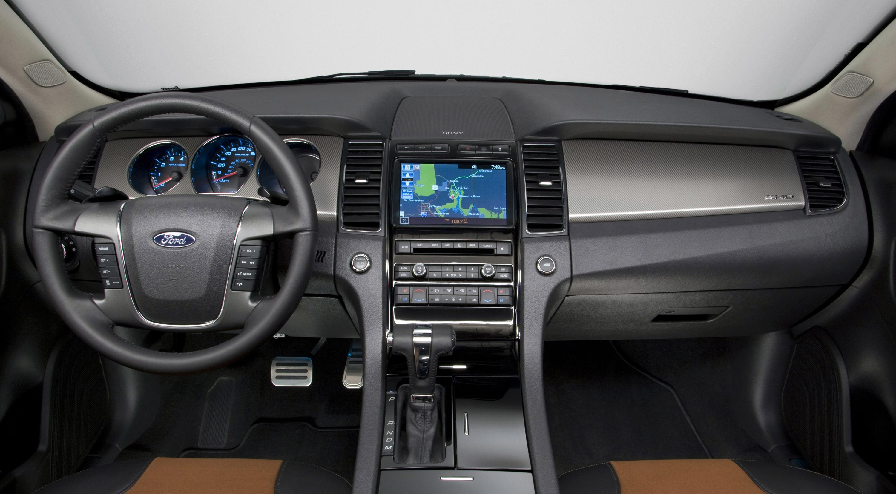 2010 ford taurus sho top speed