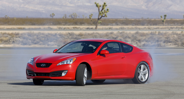 hyundai genesis coupe spec r to debut in chicago top speed. Black Bedroom Furniture Sets. Home Design Ideas