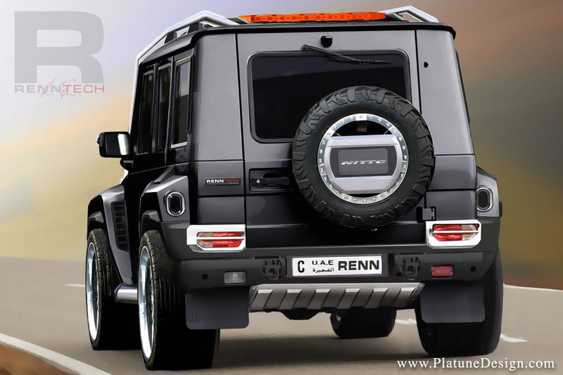 Renntech G Series Concept Based On The Mercedes Benz G Class | Top Speed. »
