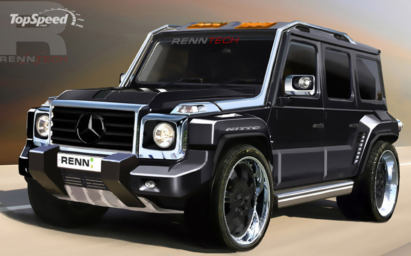renntech g series concept based on the mercedes benz g