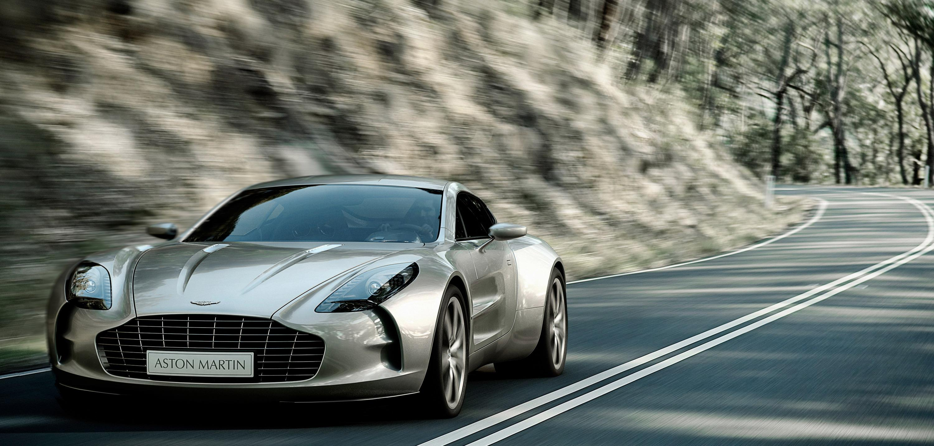 2012 Aston Martin One 77 | Top Speed. »