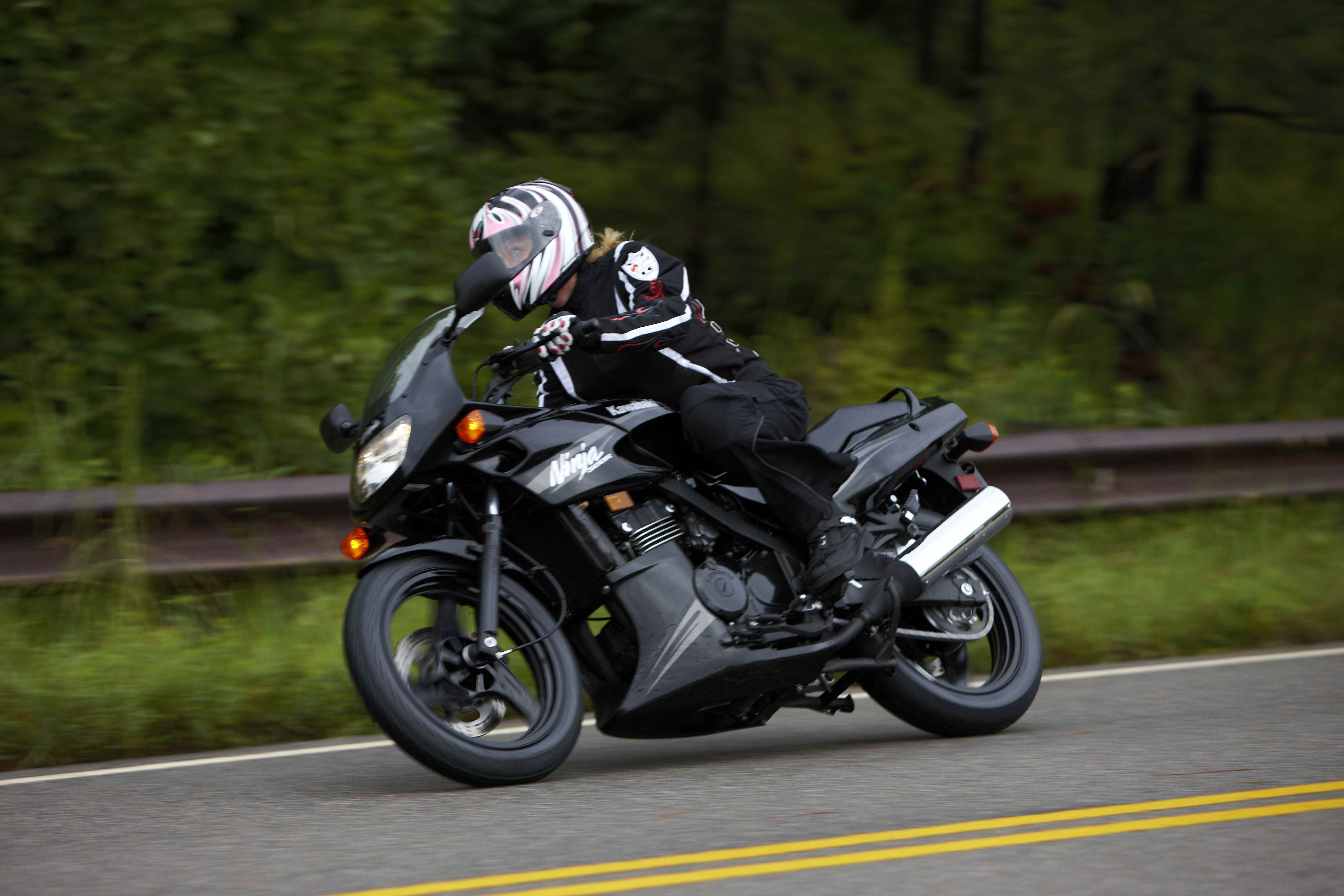 2009 Kawasaki Ninja 500R Review - Top Speed