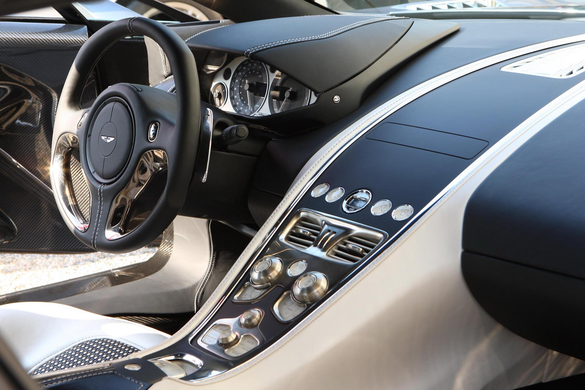 2012 Aston Martin One 77 Top Speed