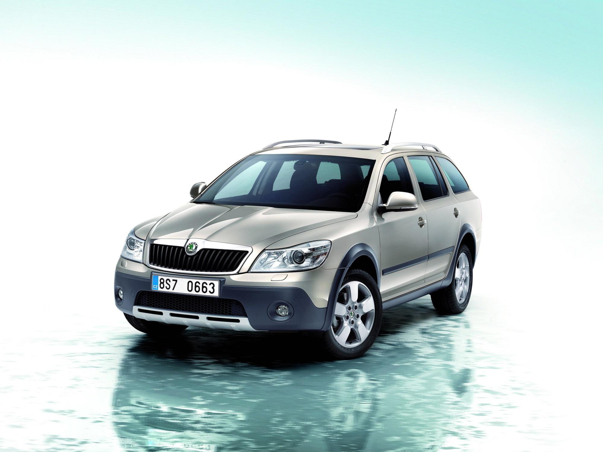 2009 skoda octavia scout review top speed. Black Bedroom Furniture Sets. Home Design Ideas