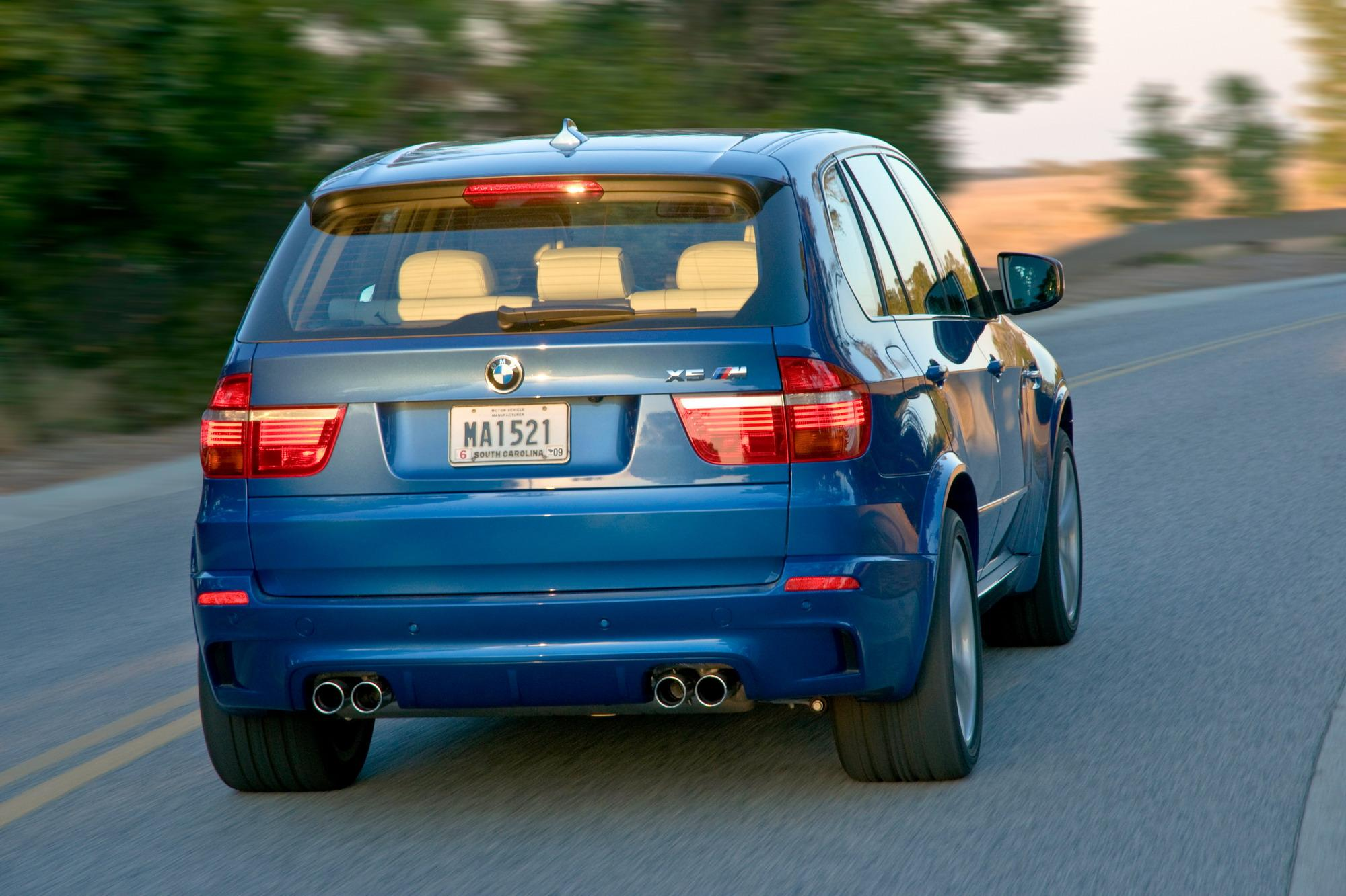 2010 BMW X5 M Review - Top Speed