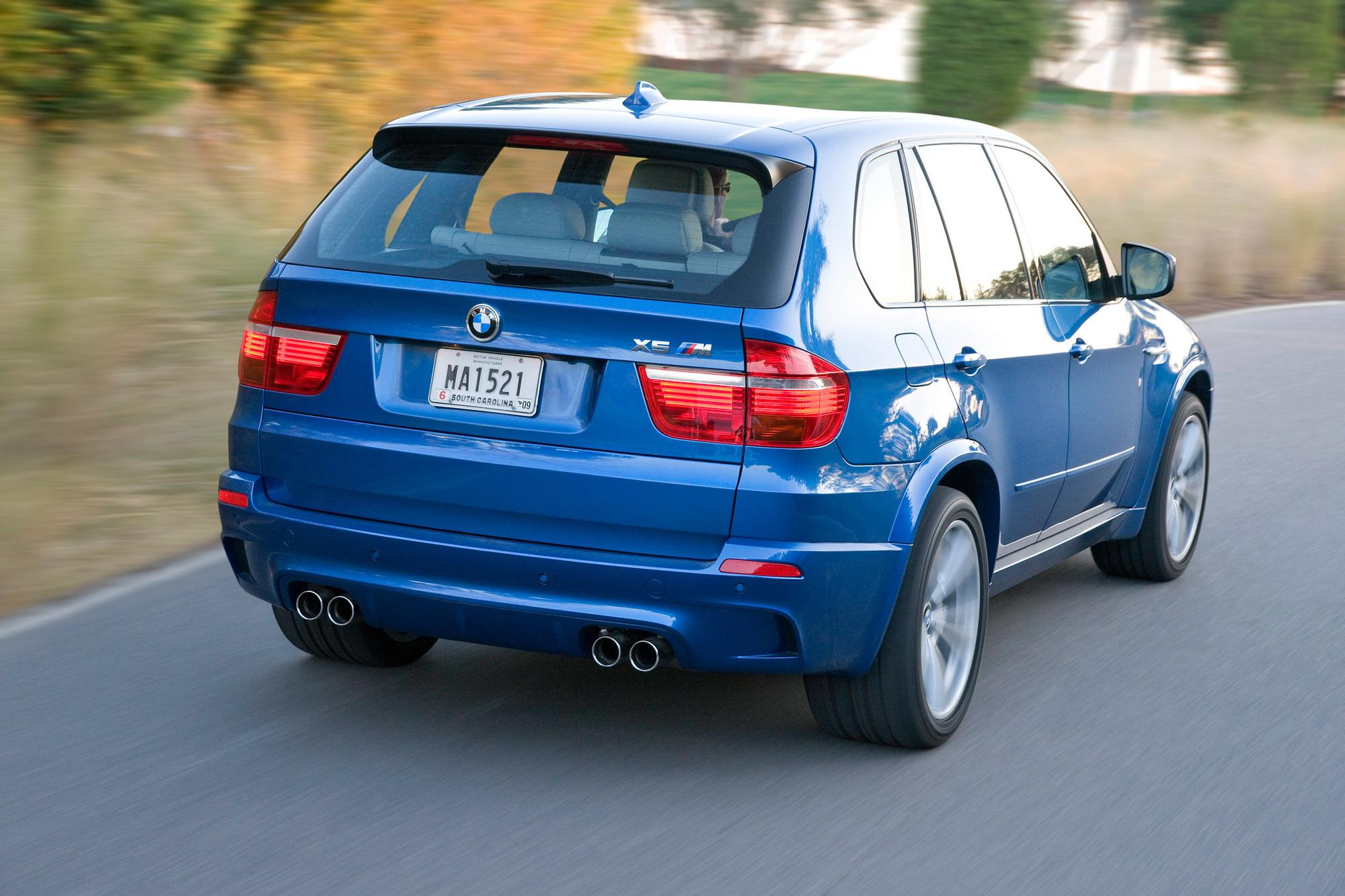 2010 BMW X5 M | Top Speed