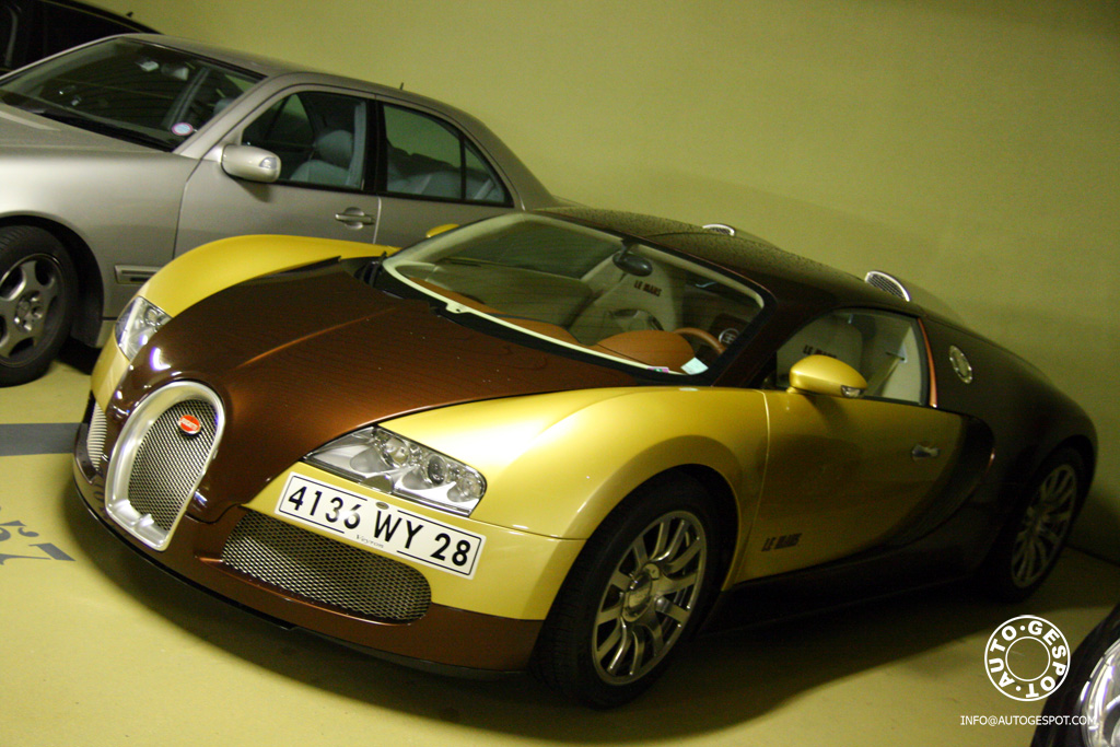 bugatti veyron le mans spotted in monaco news top speed. Black Bedroom Furniture Sets. Home Design Ideas