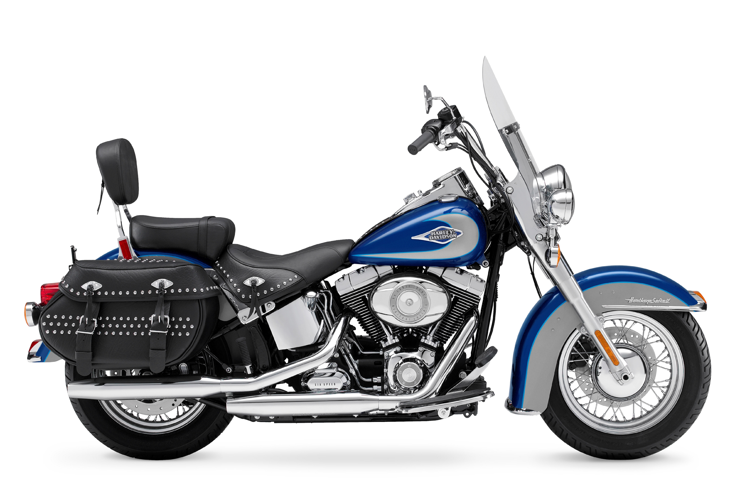 2009 Harley-Davidson FLSTC Heritage Softail Classic Review - Top Speed