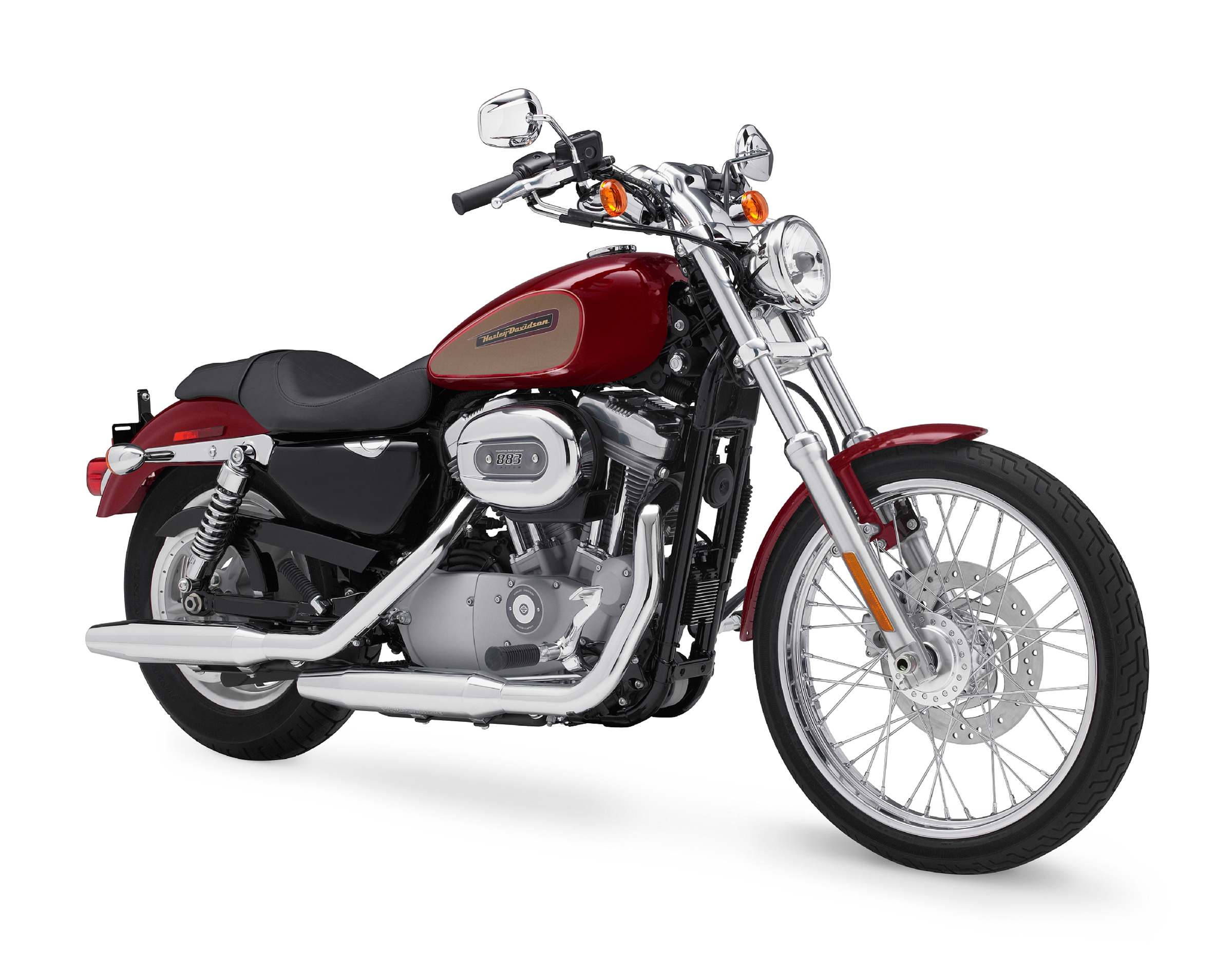 2009 Harley-Davidson XL Sportster 883 Low/Custom Review - Top Speed