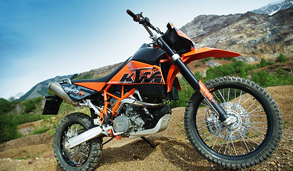 2009 KTM 950 Super Enduro R Review - Top Speed