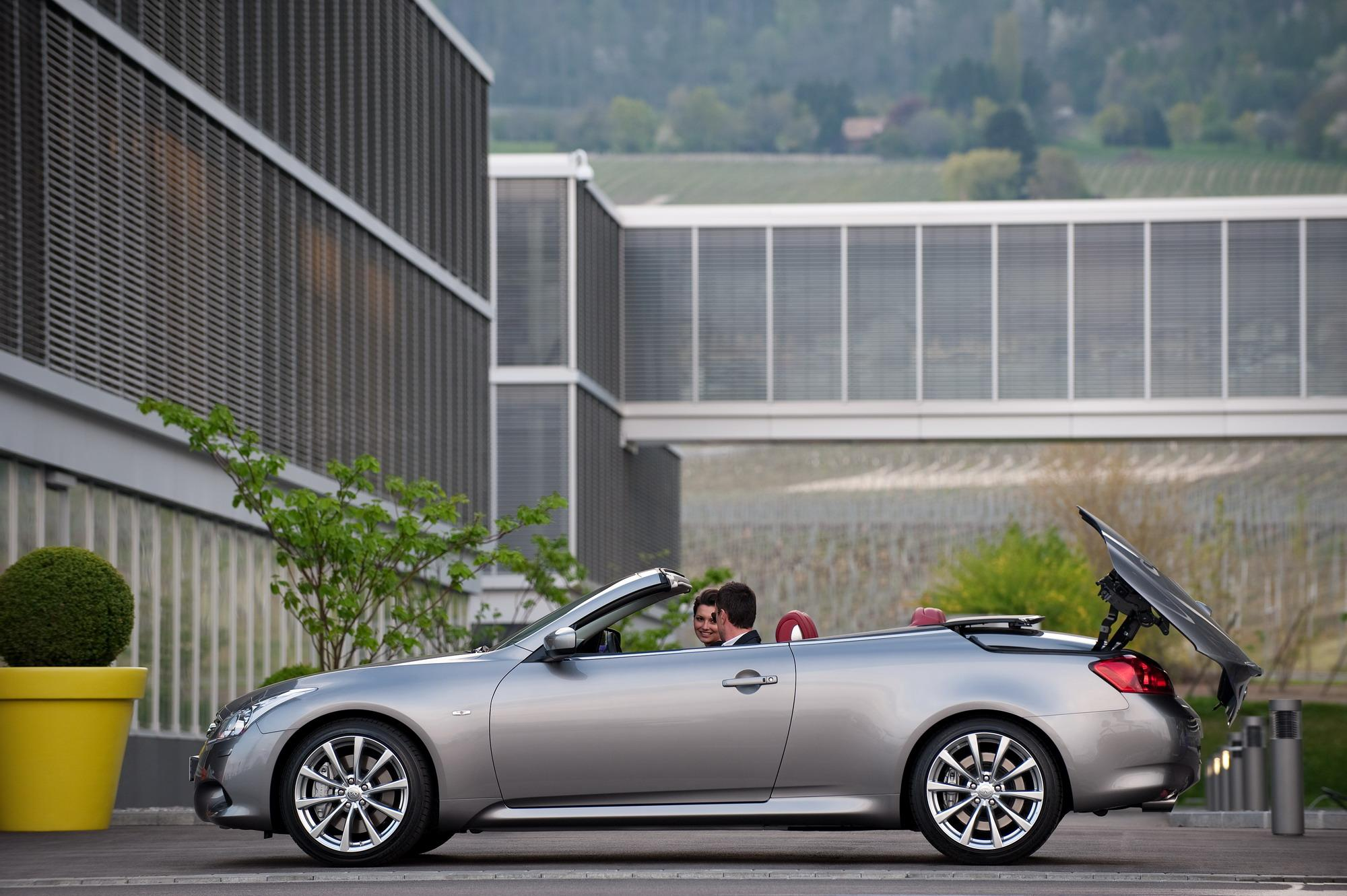 infinity specs information convertible infiniti pictures