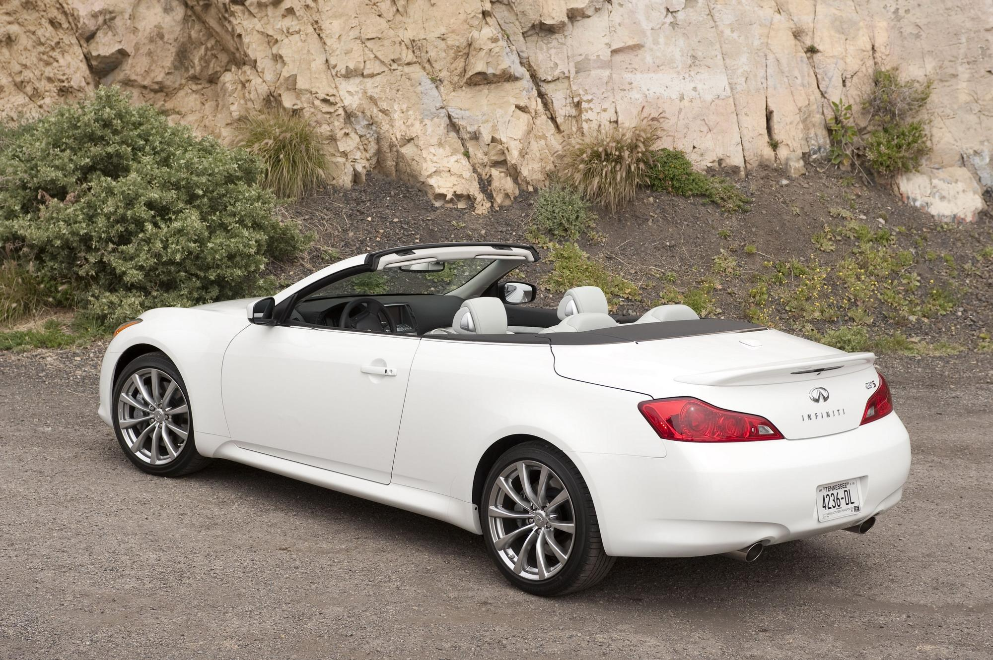2009 2010 infiniti g37 convertible review top speed sciox Images