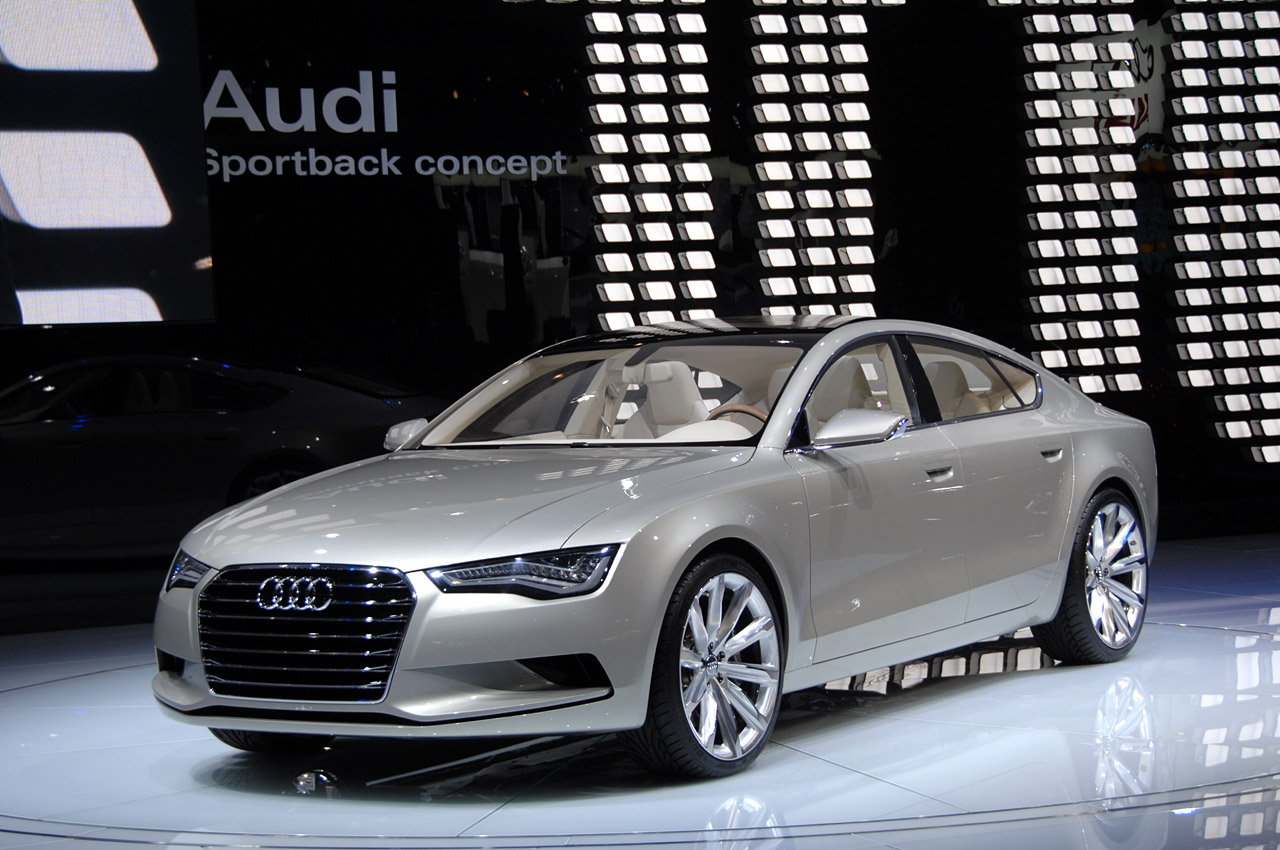 audi confirms a5 sportback and new a8 for 2009 top speed. Black Bedroom Furniture Sets. Home Design Ideas