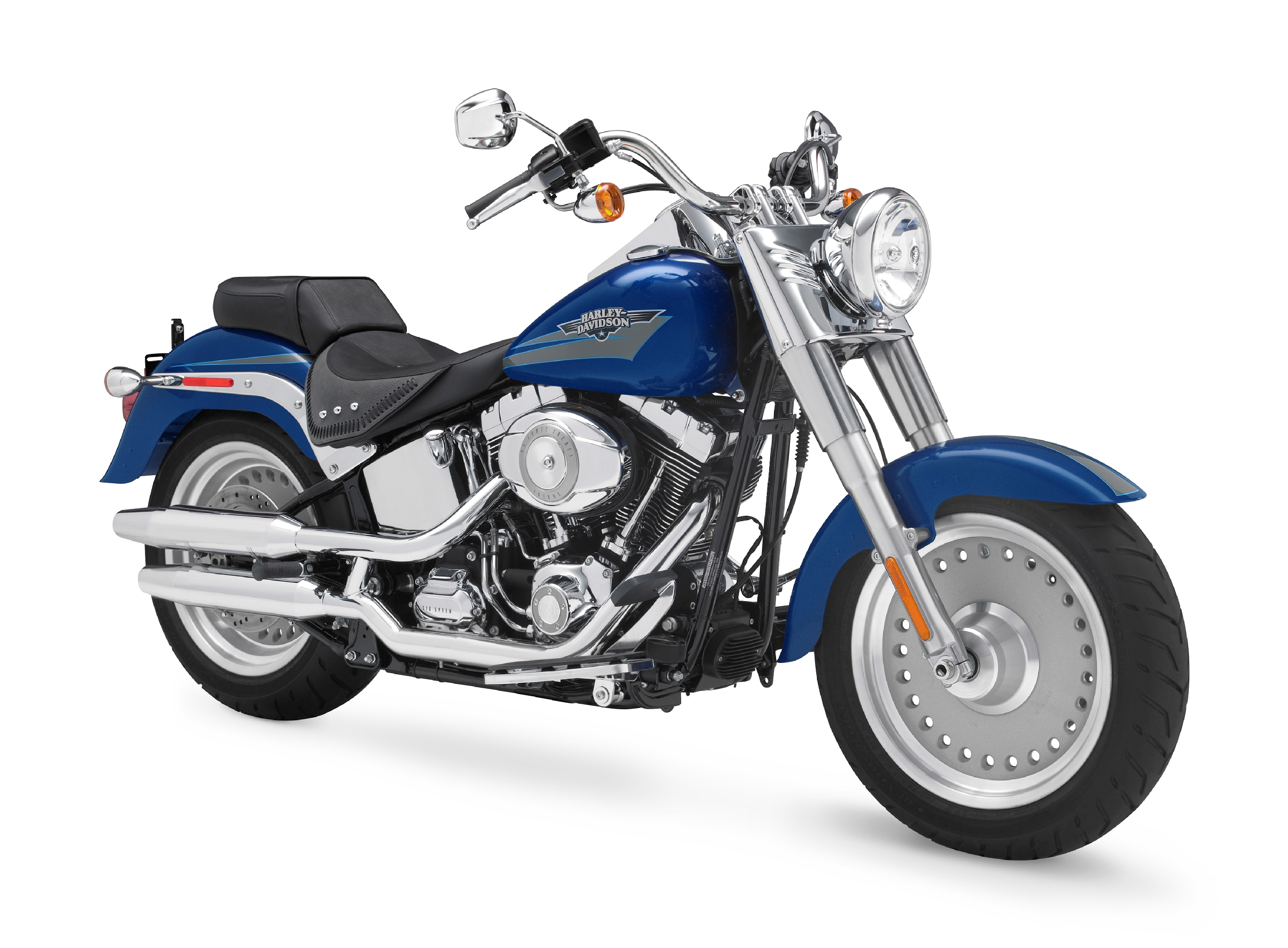 2009 Harley-Davidson FLSTF Softail Fat Boy | Top Speed. »