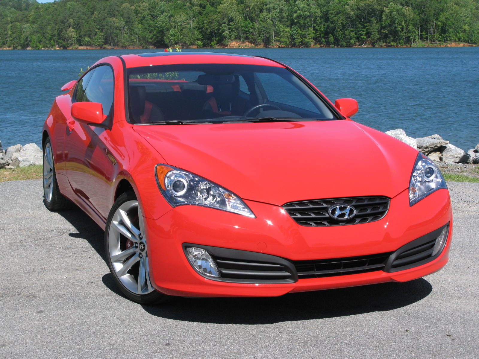 Hyundai Genesis Coupe Turbocharged Track Package First Impression News