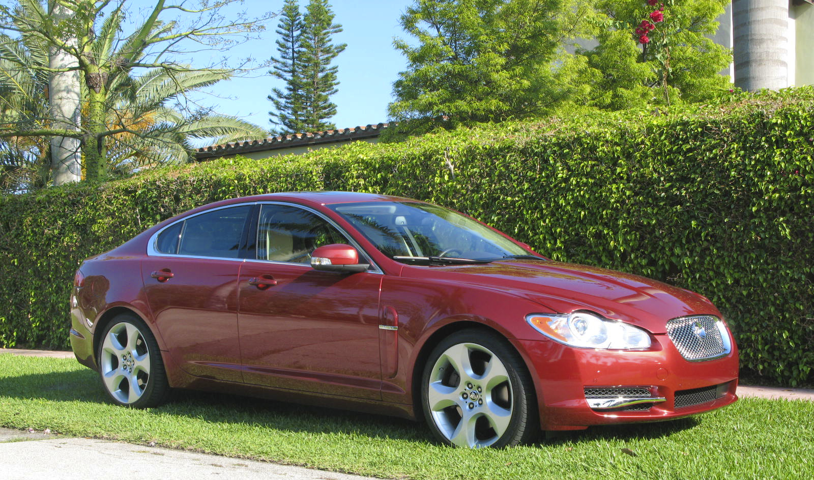 2009 Jaguar Xf Supercharged Top Speed