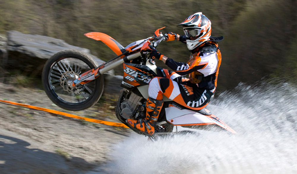 2009 ktm 105 xc review - top speed