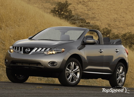 Nissan Murano Convertible will arrive in 2010
