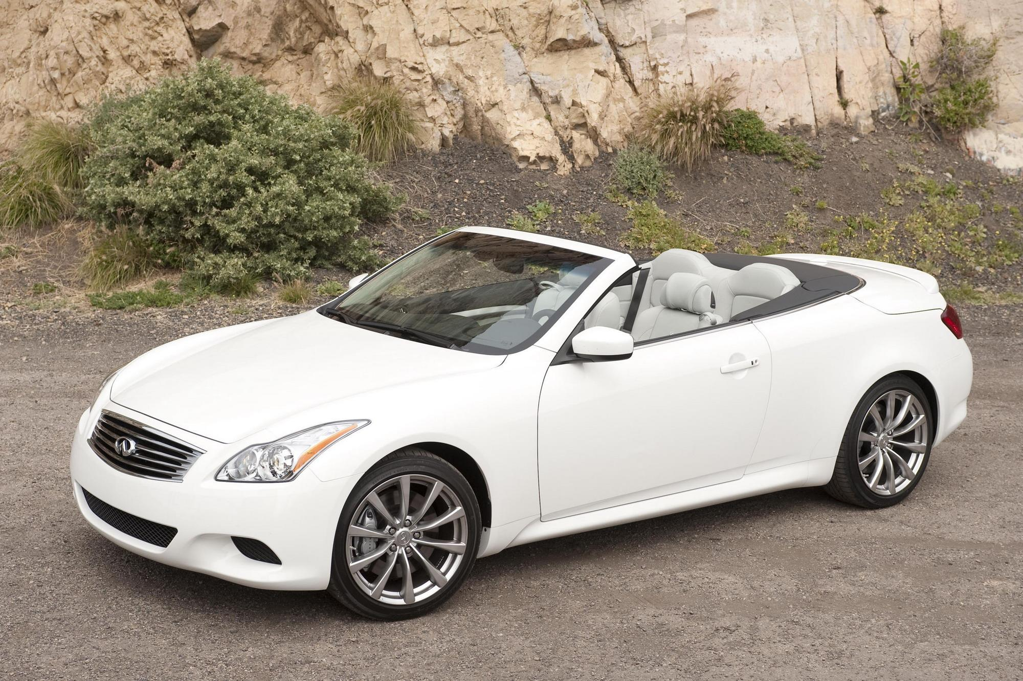 2009 infiniti g37 convertible us prices announced news. Black Bedroom Furniture Sets. Home Design Ideas