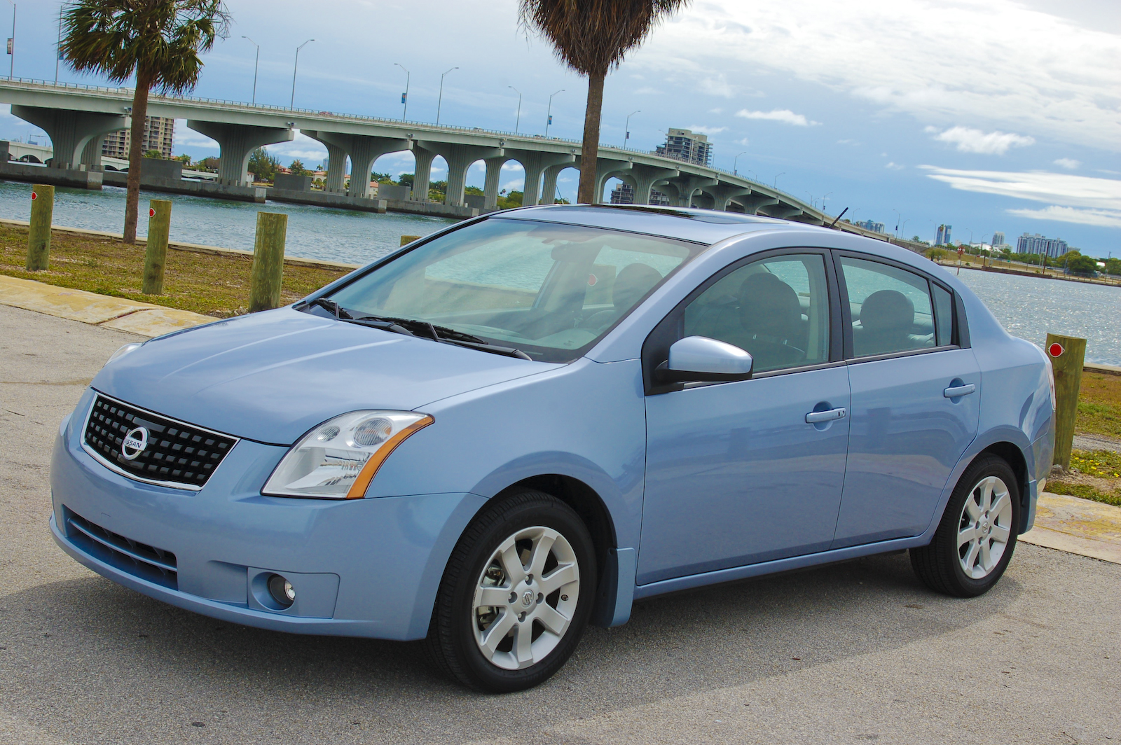 2009 nissan sentra fe+ 2.0 sl | top speed