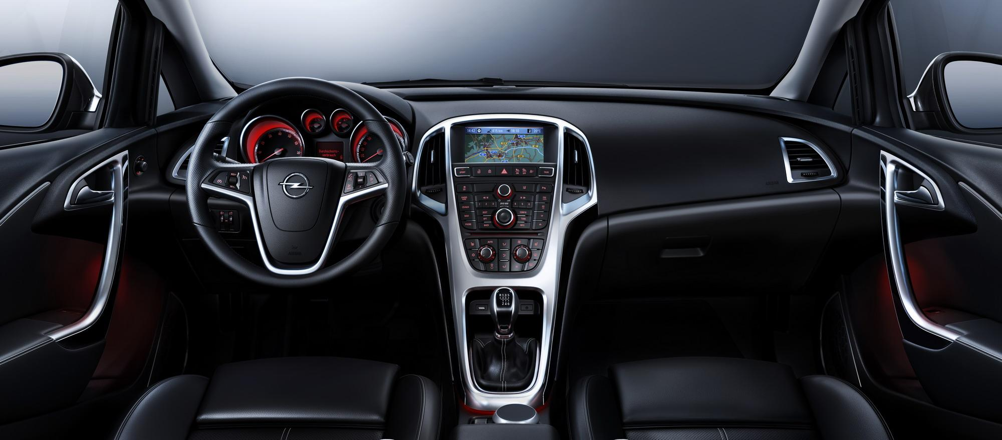 2010 Opel Astra Reveales Its Interior Picture Top Speed