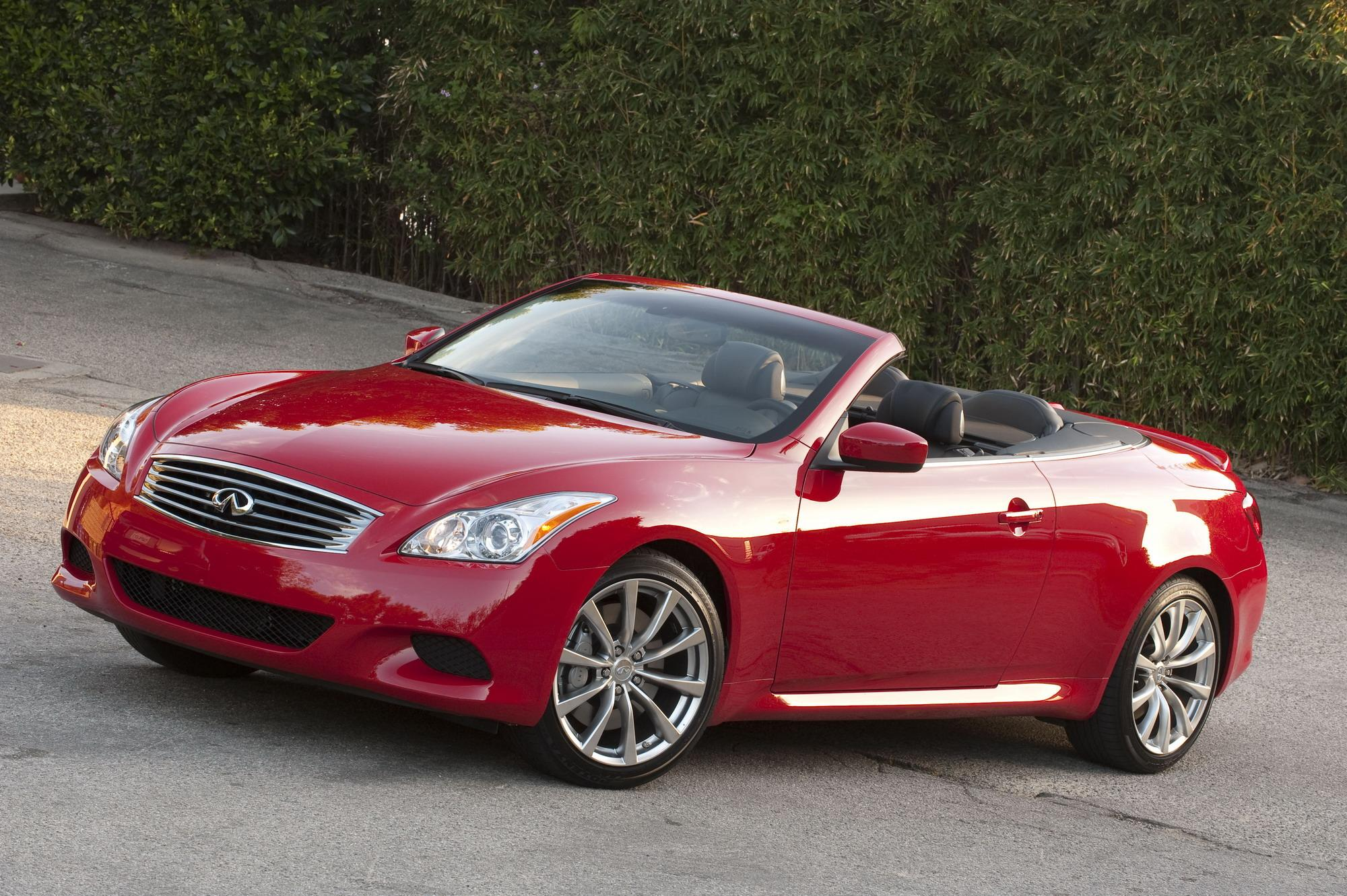 auto uncompromised beauty news infinity infiniti convertible