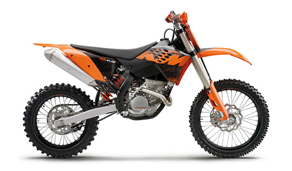 Ktm  Xcf Top Speed