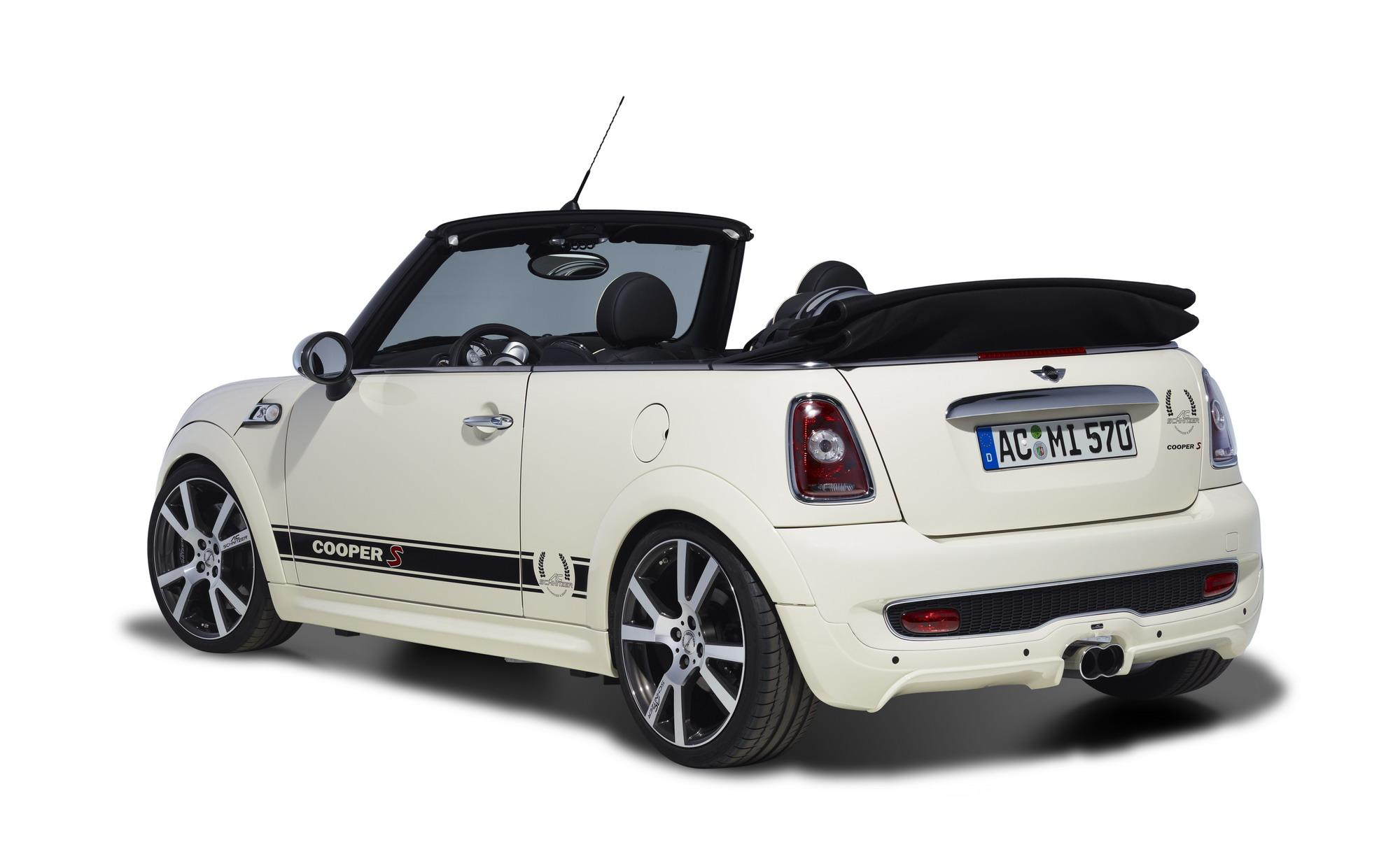 mini cabrio by ac schnitzer review top speed. Black Bedroom Furniture Sets. Home Design Ideas