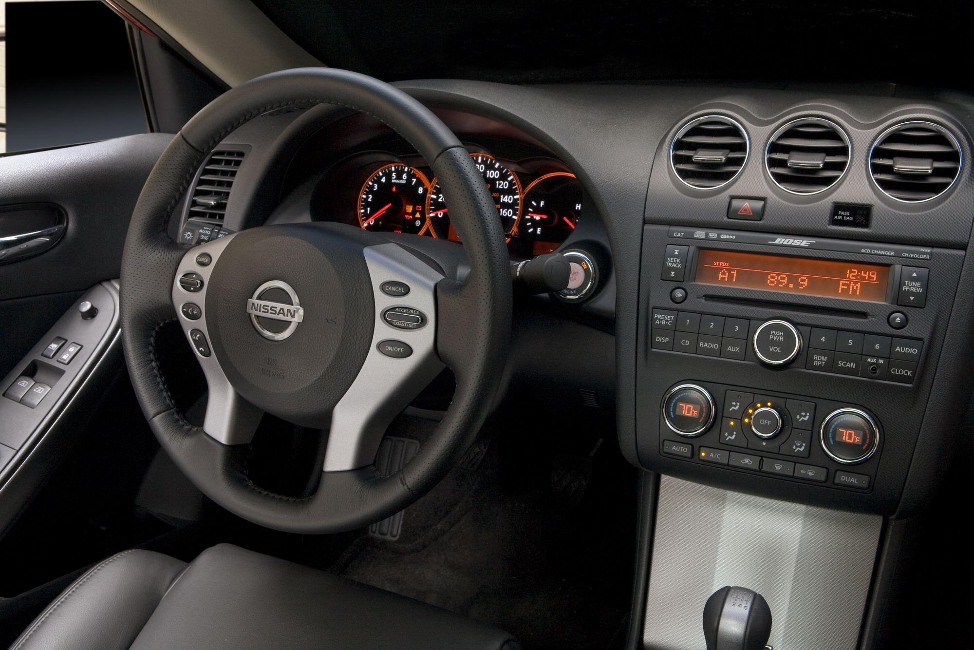 Good 2009 Nissan Altima Coupe | Top Speed. »