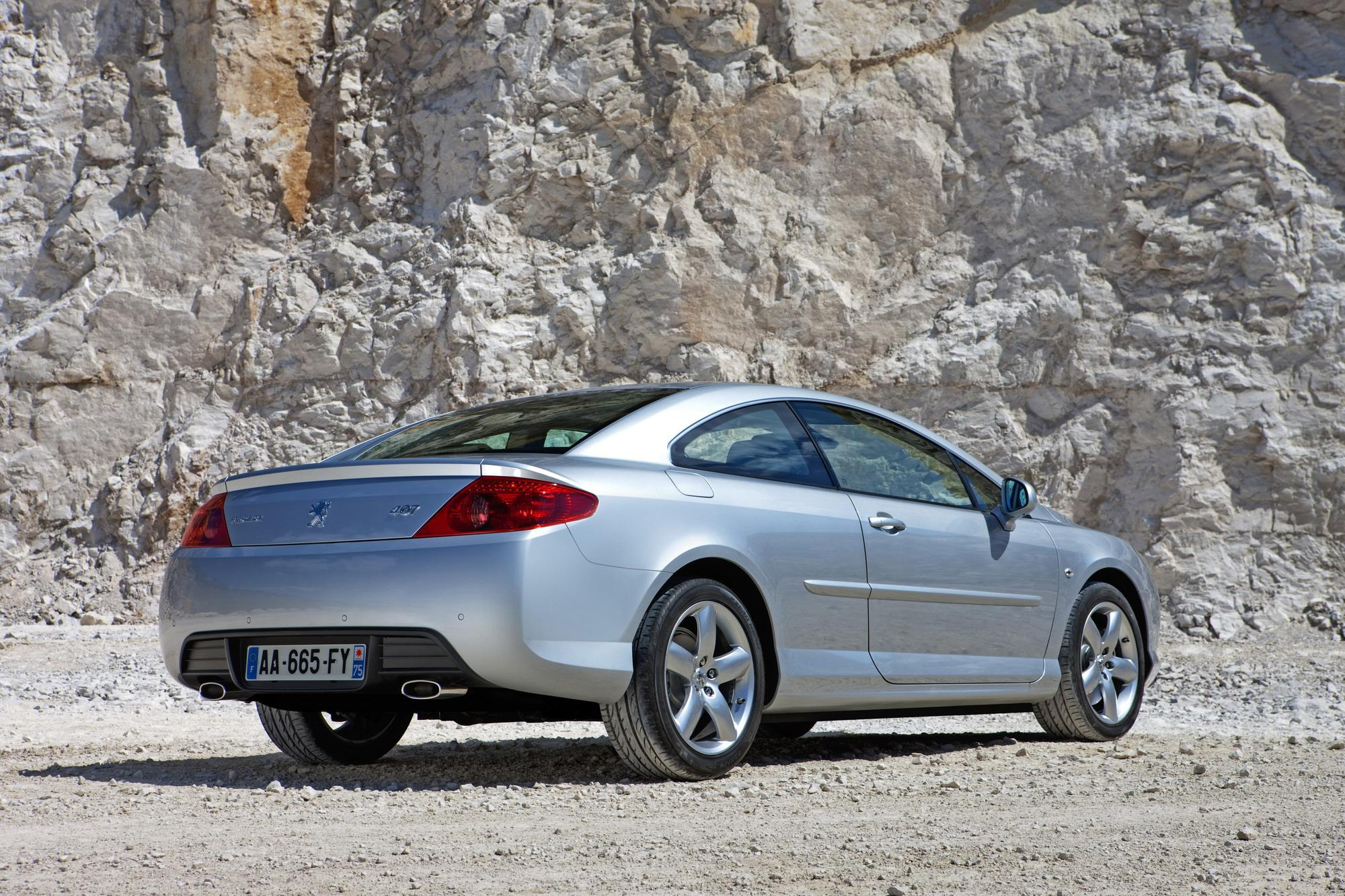 2009 peugeot 407 coupe review top speed. Black Bedroom Furniture Sets. Home Design Ideas