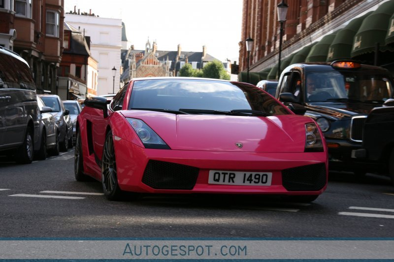 Pink Lamborghini Gallardo Superleggera Pictures Photos Wallpapers
