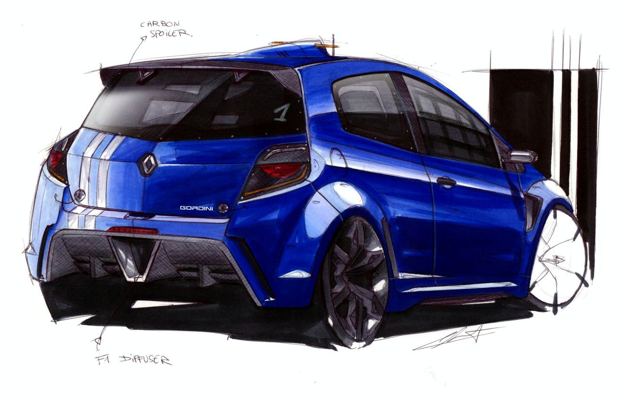 Renault Clio RS Gordini - Will It Look Like This? | Top Speed