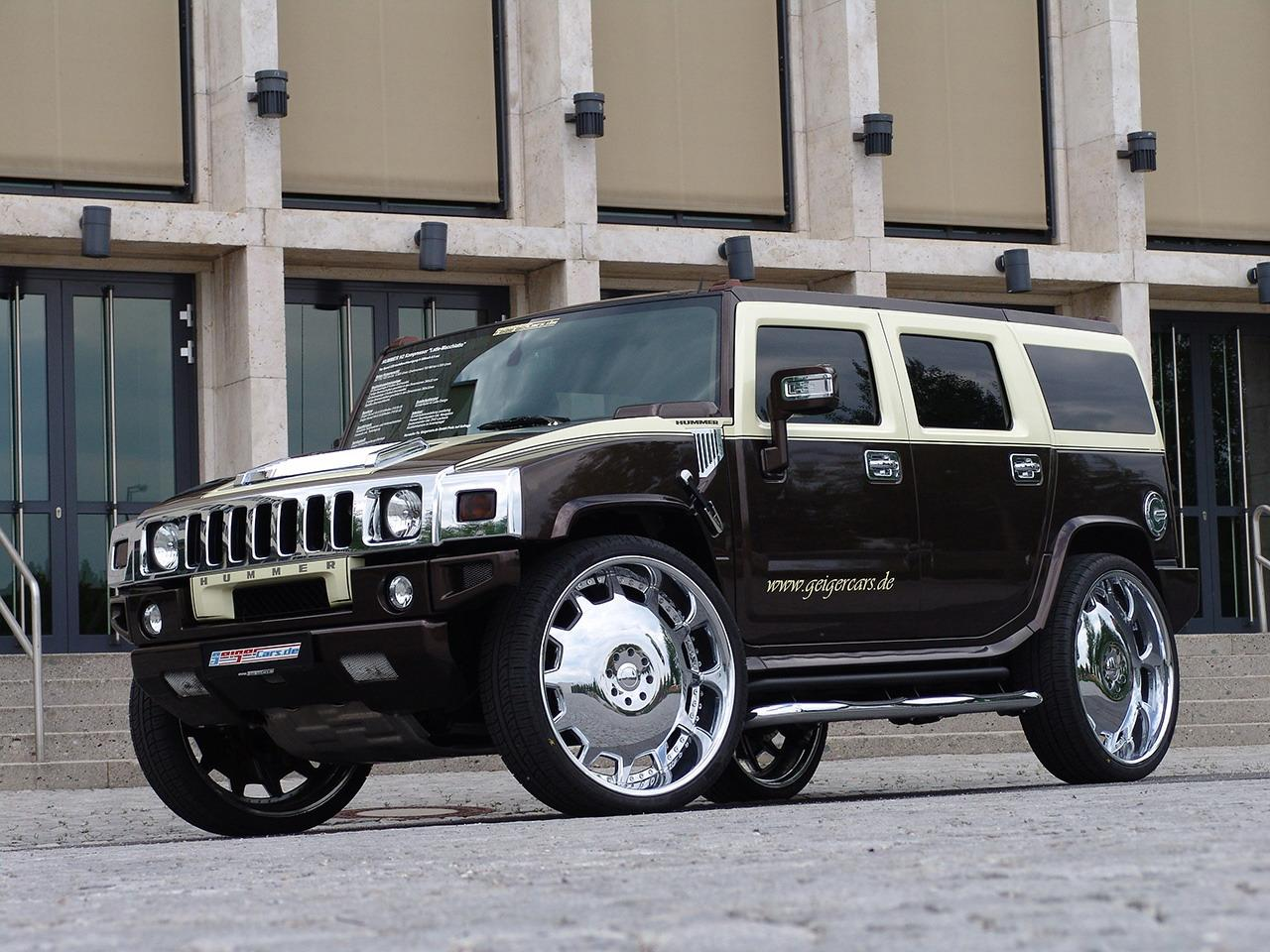 Hummer H2 By GeigerCars Fit For A Pimp Pictures, Photos, Wallpapers