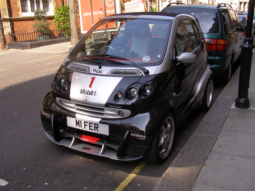 If Mika Hakkinen Drove A Smart Car Picture Top Speed