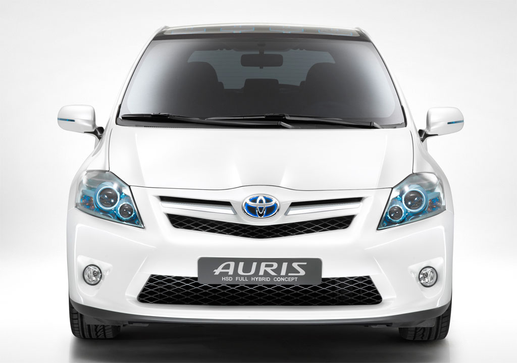 2009 toyota auris hsd full hybrid concept top speed. Black Bedroom Furniture Sets. Home Design Ideas