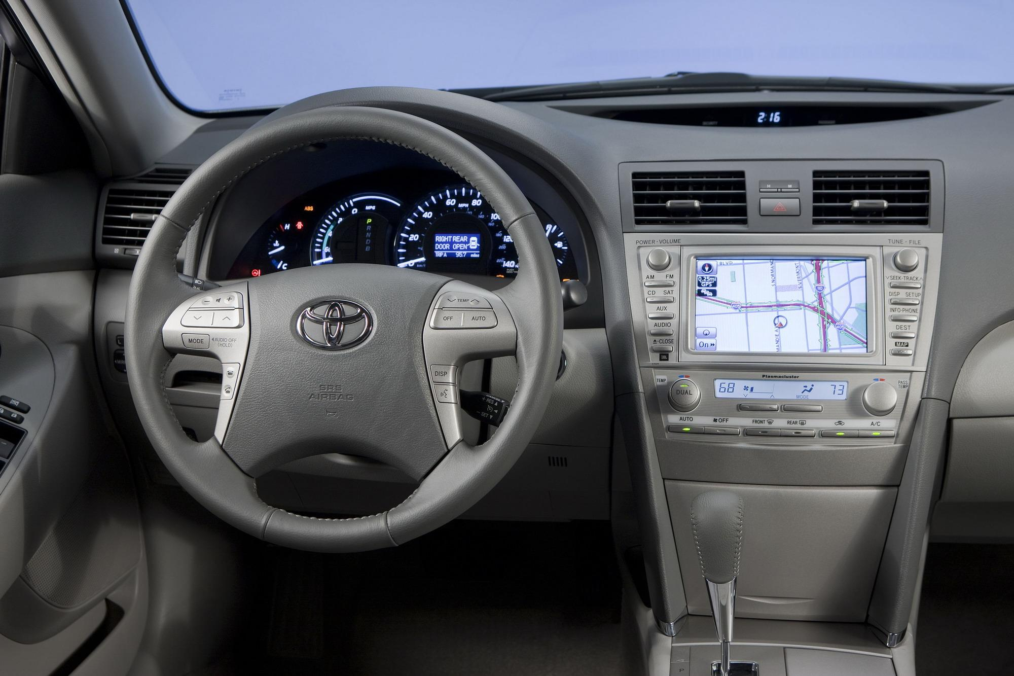 Toyota Camry: Auxiliary boxes