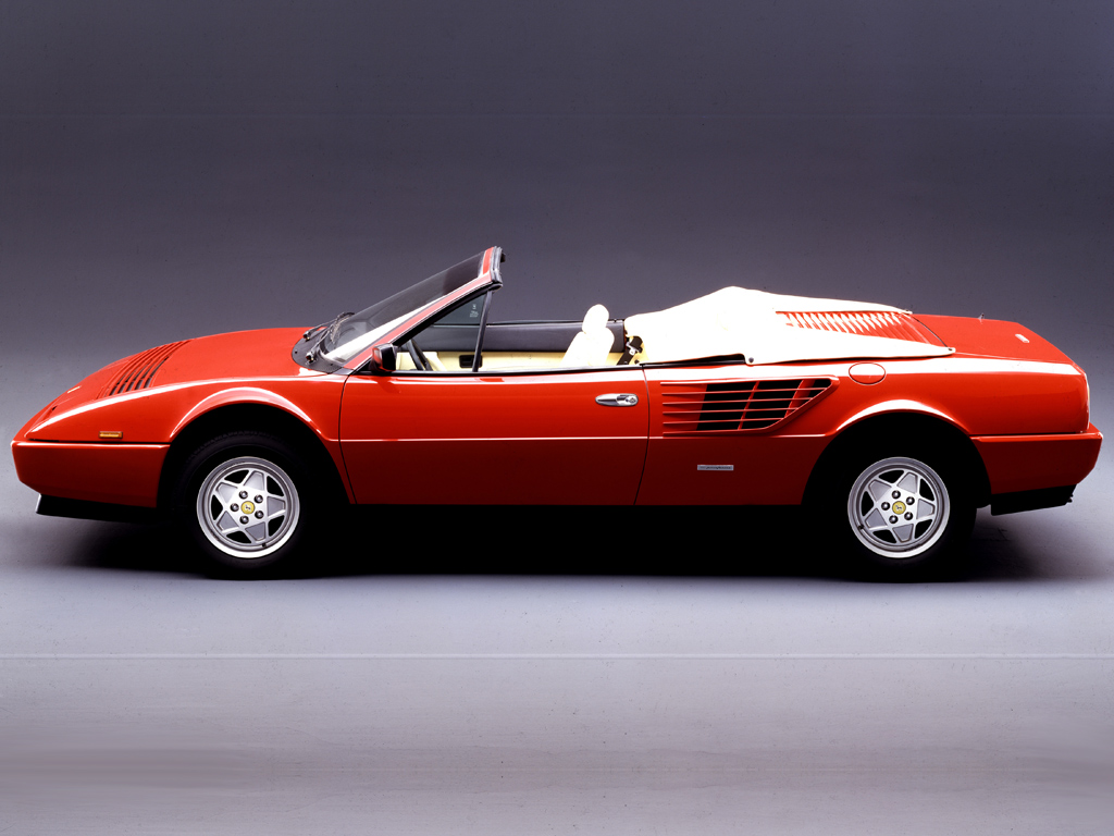 1985 1989 ferrari 3 2 mondial cabriolet review top speed. Black Bedroom Furniture Sets. Home Design Ideas