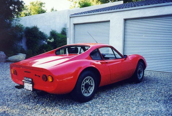 1968 Ferrari Dino 206 GT car technical specifications from ...