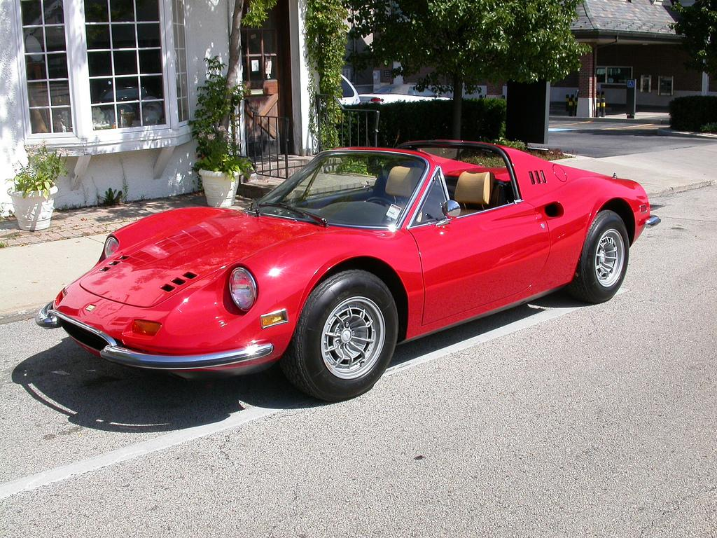 1972 - 1974 Ferrari Dino 246 GTS | Top Speed. »