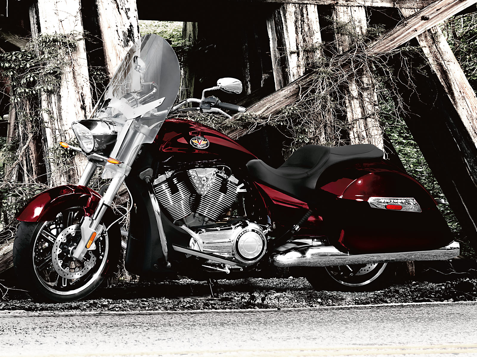 Victory Cross Roads on Victory Motorcycles