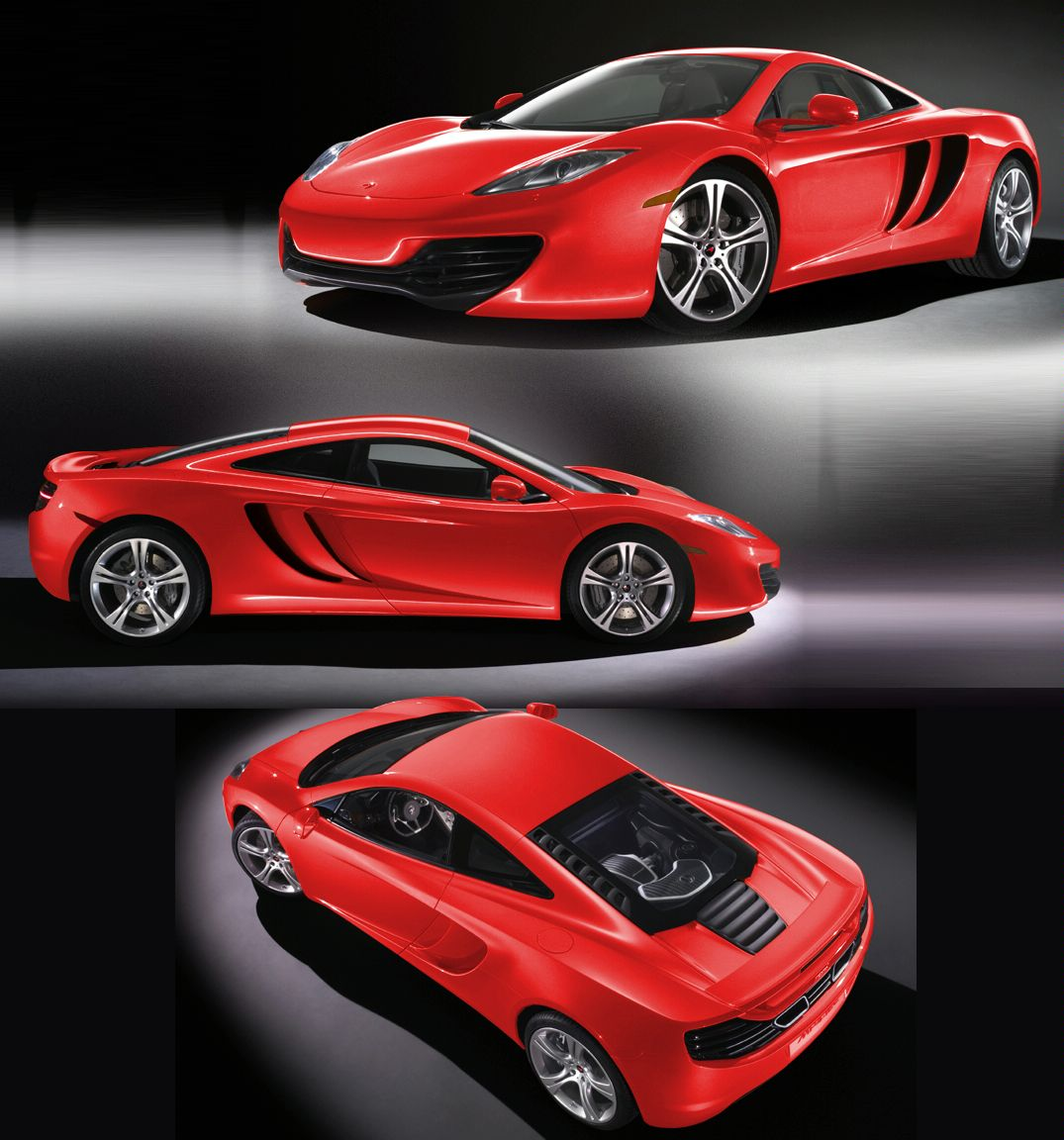 2010 McLaren MP4-12C Rainbow Colors