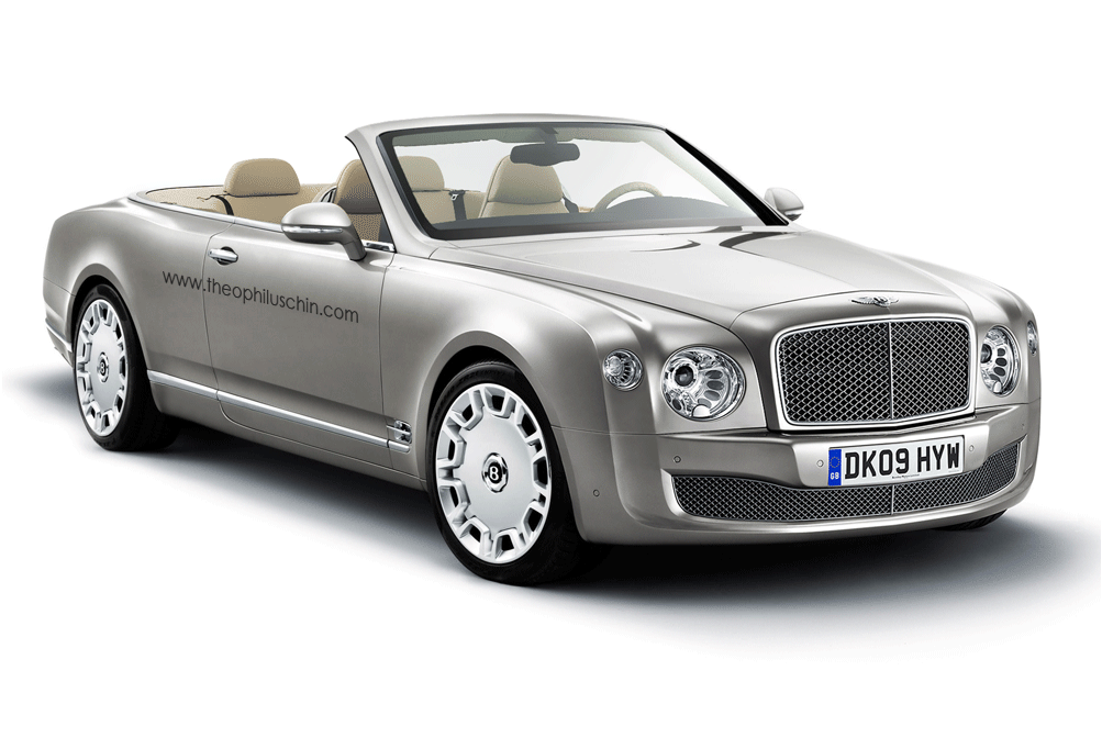 Car Driving Games >> Bentley Mulsanne Cabriolet Rendered | Top Speed