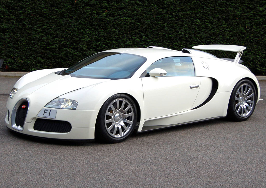 What is the top speed of the bugatti veyron