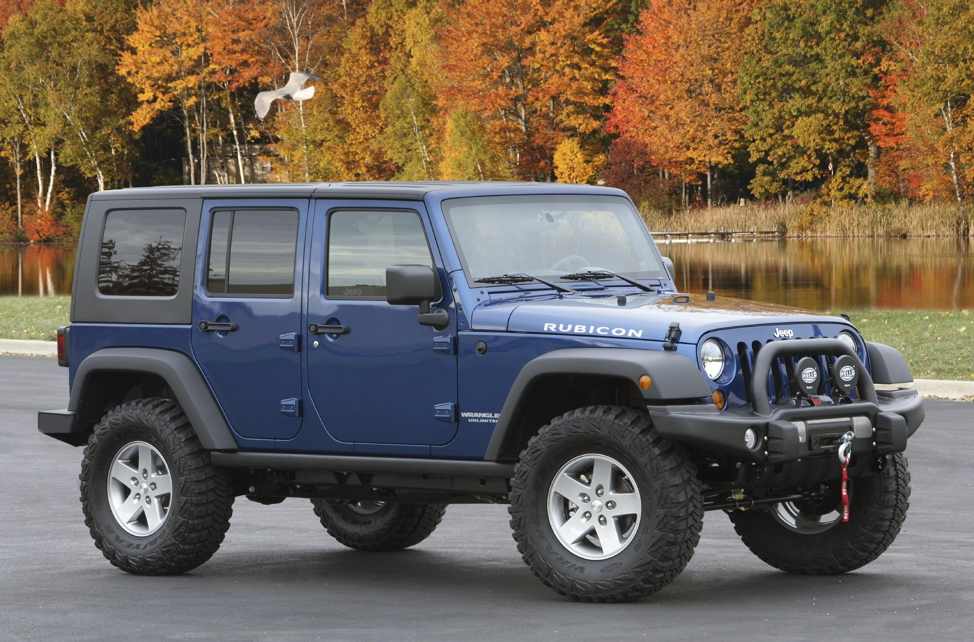2010 Jeep Wrangler Family Friendly Off Road Edition By Mopar Top Speed Saturn Vue Lift Kit