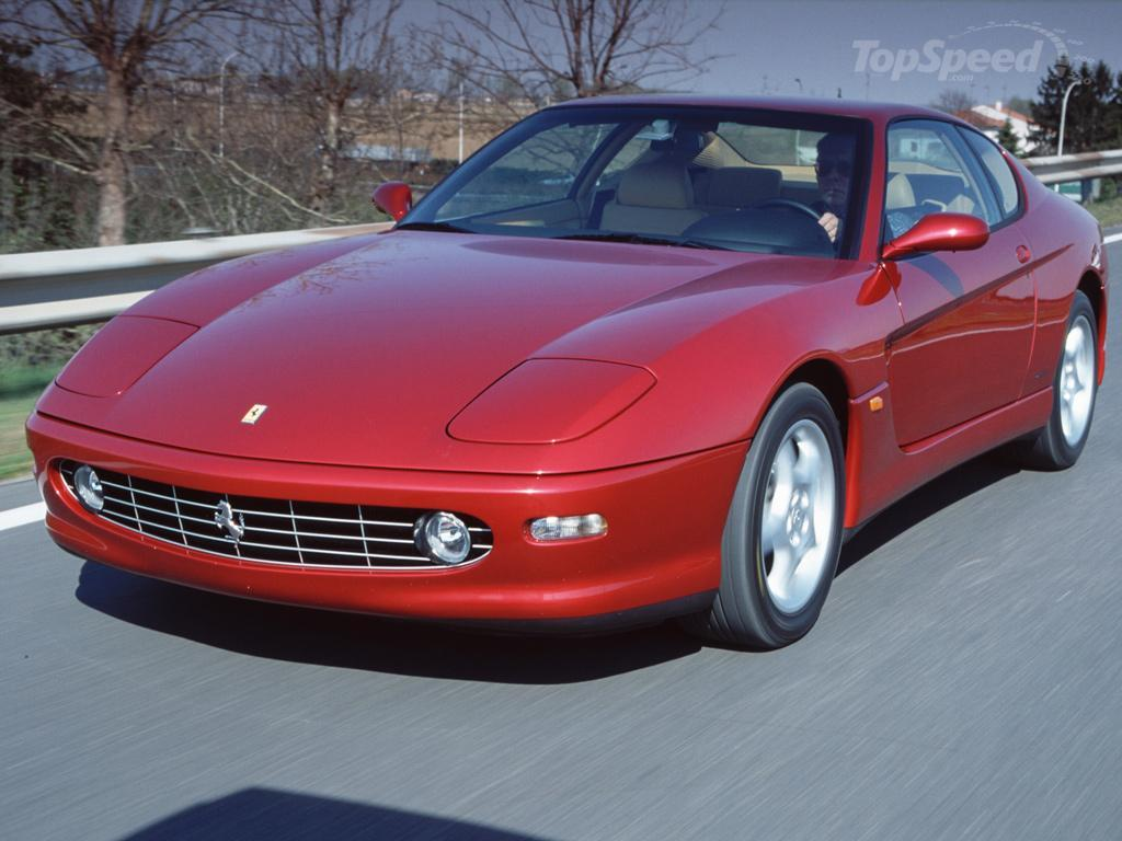1998 Ferrari 456M GTA picture: