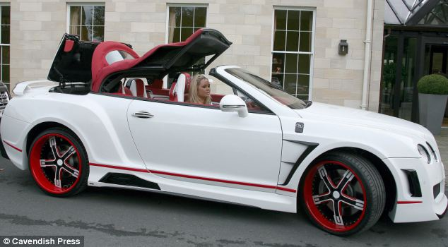 Pimped Out Bentley Continental GTC Stephen Ireland Style ...